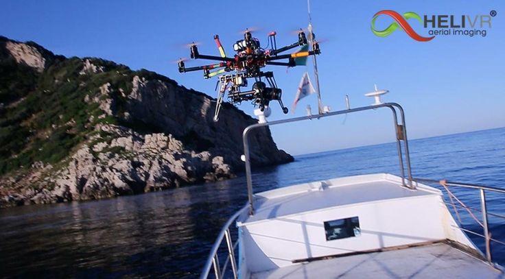 Tavolara - Drone blackstage per Spot Comune Golfo Aranci http://www.helivr.com
