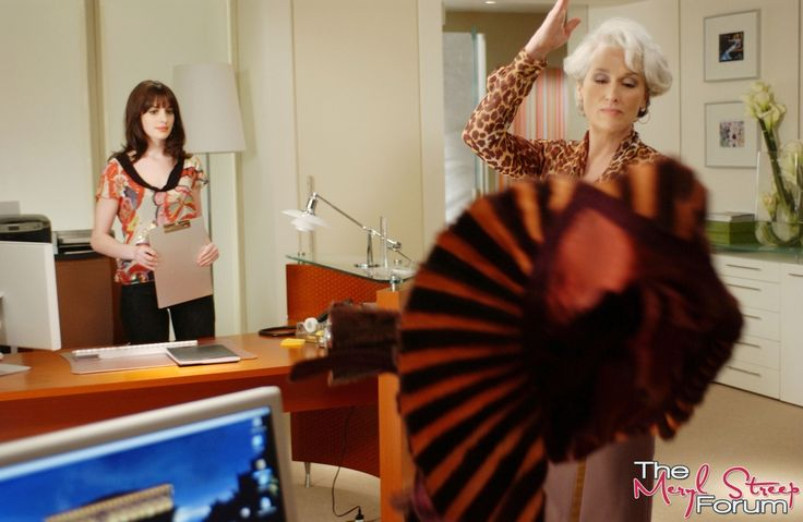 Meryl Streep as Miranda Priestly;  2006 The Devil Wears Prada; 1300x847px