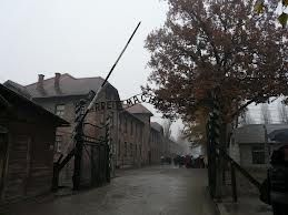 Auschwitz. That sign leading in is one of the creepiest things ever - Work will set you free