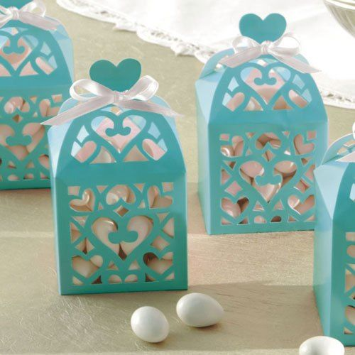wedding favour boxes sugared almonds -  Low cost Wedding favour ideas, DIY wedding favours, wedding favour gifts, wedding favour boxes and wedding favour bags, low cost wedding favour ideas