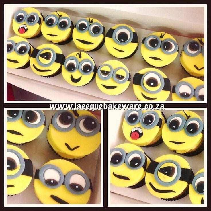 Minion cuppy cakes
