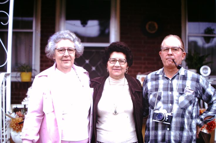Jo with the Harmons, Frances and Rex