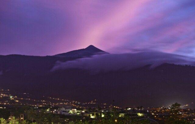 The volcano Teide, Tenerife