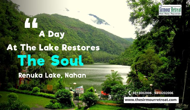 Being the largest #naturallake, #RenukaLake is the place to visit when you're into #nature and the comfort it offers. If you are planning a #trip to Nahan, Sirmour then one of the #bestresorts that one can find near Renuka Lake is The Sirmour Retreat Book your stay today!!