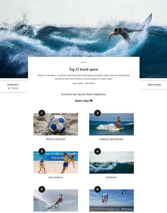 Top 12 beach sports | UNIKSTORE Blog