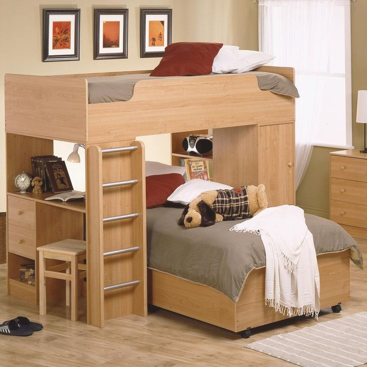 The Bunk beds are really nice.