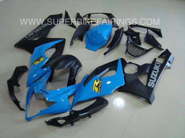 2005-2006 GSXR-1000 Blue & Black Suzuki Fairings