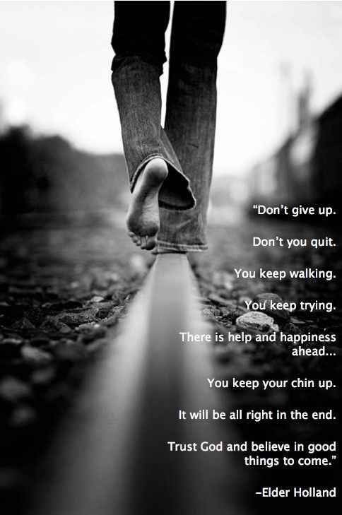 ....and Spiritually Speaking: Search results for don't give up