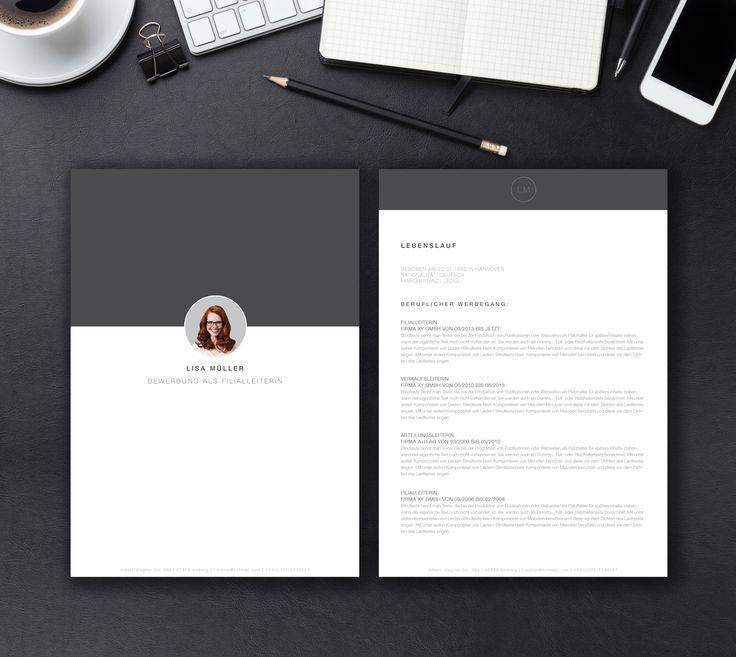 """Unsere Bewerbungsvorlage """"Minimal Office"""" in der Farbe Midnight Grey. Mit der stylischen Vorlage """"Minimal Office"""" wecken Sie zu 100 Prozent die Neugier aller Personaler. Sie erhalten von uns ein Deckblatt, Anschreiben, Lebenslauf, Motivationsschreiben. Die Datei bekommen Sie als fertige Pages- oder Word-Datei inklusive Platzhaltertext mit Hinweisen. – Kreativ-Bewerbung"""