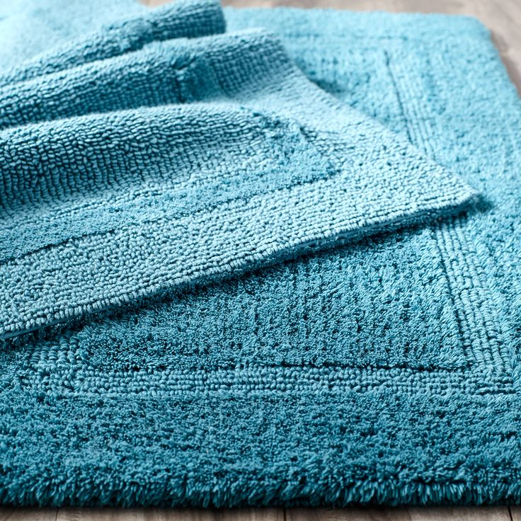 Best Bathroom Accessories Bath Mats Rugs Images On - Turquoise bathroom rugs for bathroom decorating ideas