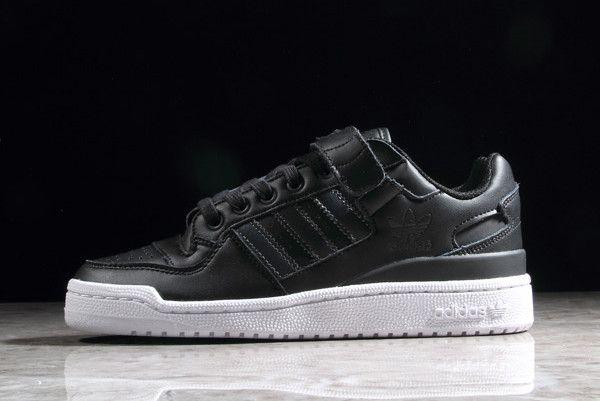 adidas Forum Low Refined Black White CG7135 | adidas