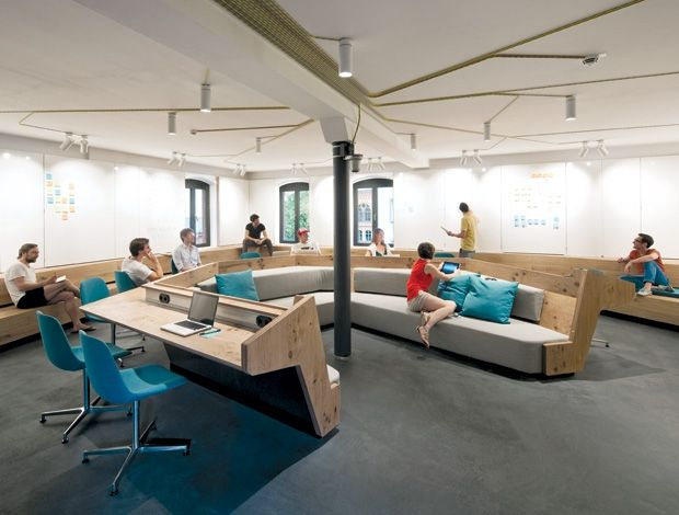 Communal spaces have been designed to comfortably fit both large and small groups