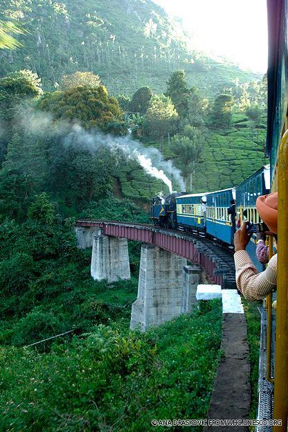 India Travel Inspiration - Three historic railways comprise a World Heritage site recognizing their importance in trade and technological development. Still in use today, the Darjeeling Himalayan Railway, Nilgiri Mountain Railway, and Kalka Shimla Railway were all begun or completed in the 19th century.