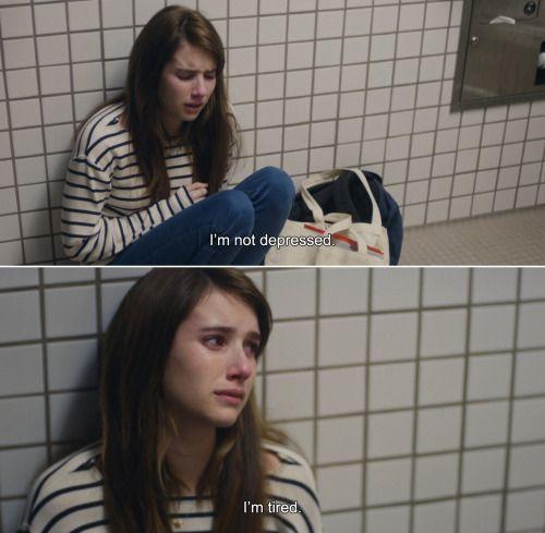 Imagen de tired, sad, and depressed