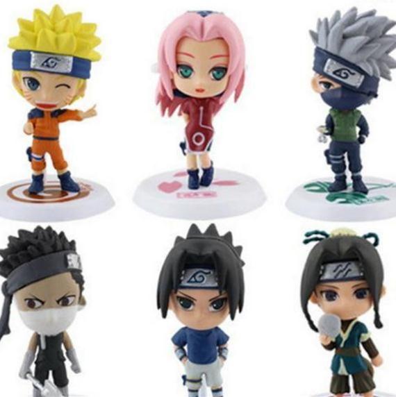 Naruto Actions Figures Anime 6 Styles Model Toys Zabuza Haku