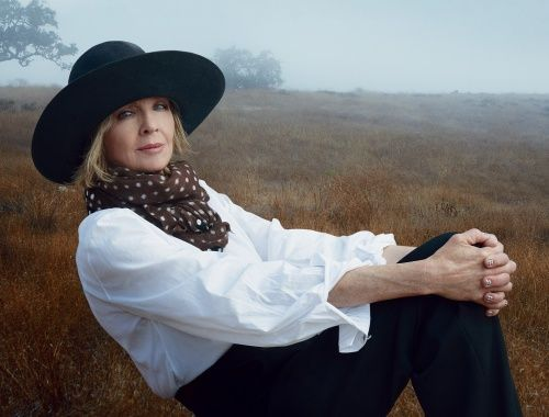 Diane Keaton..I adore her & her book is brilliant, filled with love  & heartbreaking...The kind of tribute that every mother should have...one I'd like to write for mine...