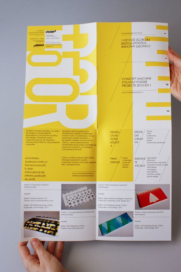 Foldout poster 2011