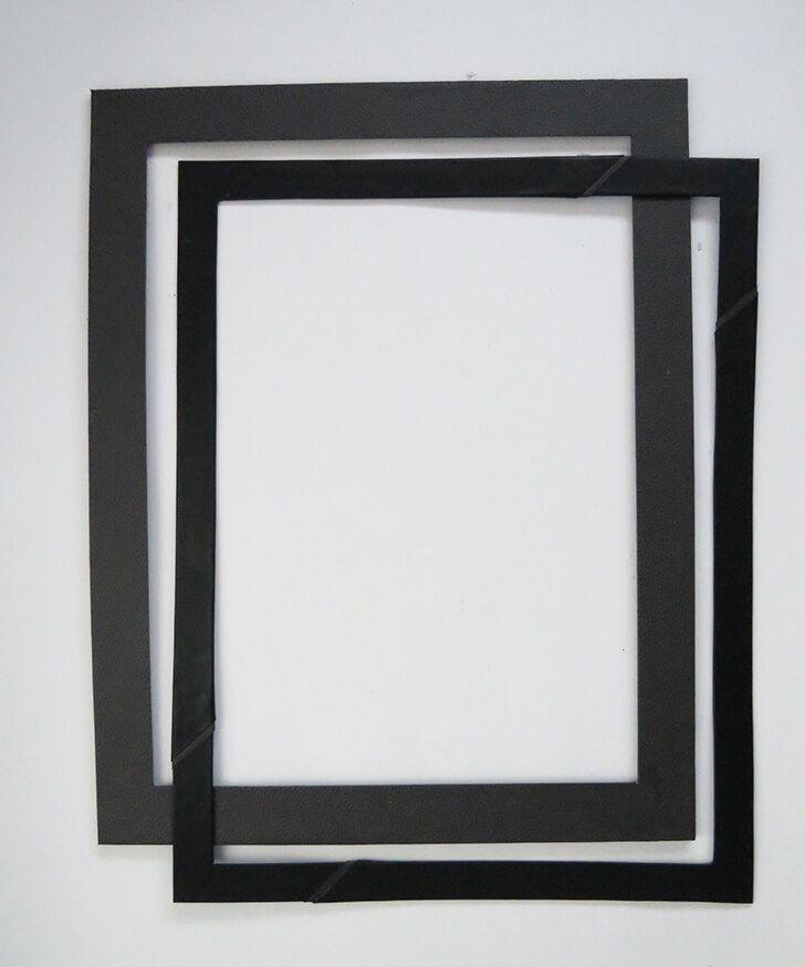 How To Make A Cardboard Frame Diy Photo Frame Cardboard