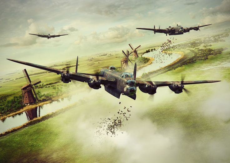 Operation Manna by Piotr Forkasiewicz - Operation Manna was a humanitarian food drop, carried out by British RAF units, as well as squadrons from the Australian, Canadian, New Zealand and Polish air forces, between 29th April and 7th May 1945, to relieve a famine in German-occupied Holland