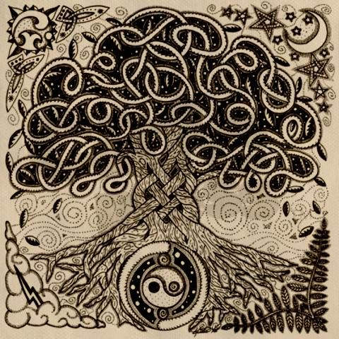 El Crann Bethadh (Celtic Tree of Life) - Google Image Search
