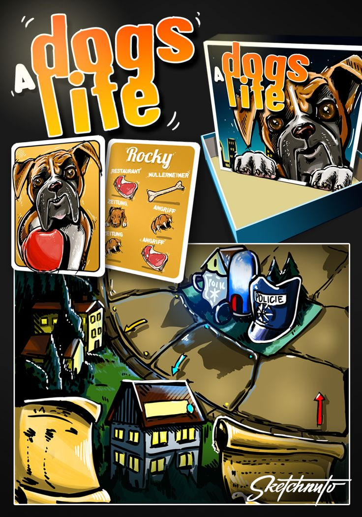 "game ""A dogs life"""