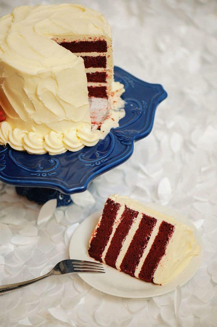 SPOON: Red Velvet Cake  Recipe by Artisan Cake Company