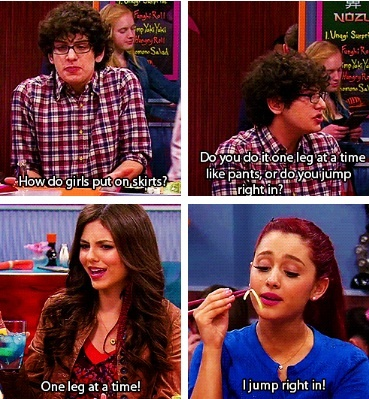 Why we love Victorious❤️ Their weird conversations