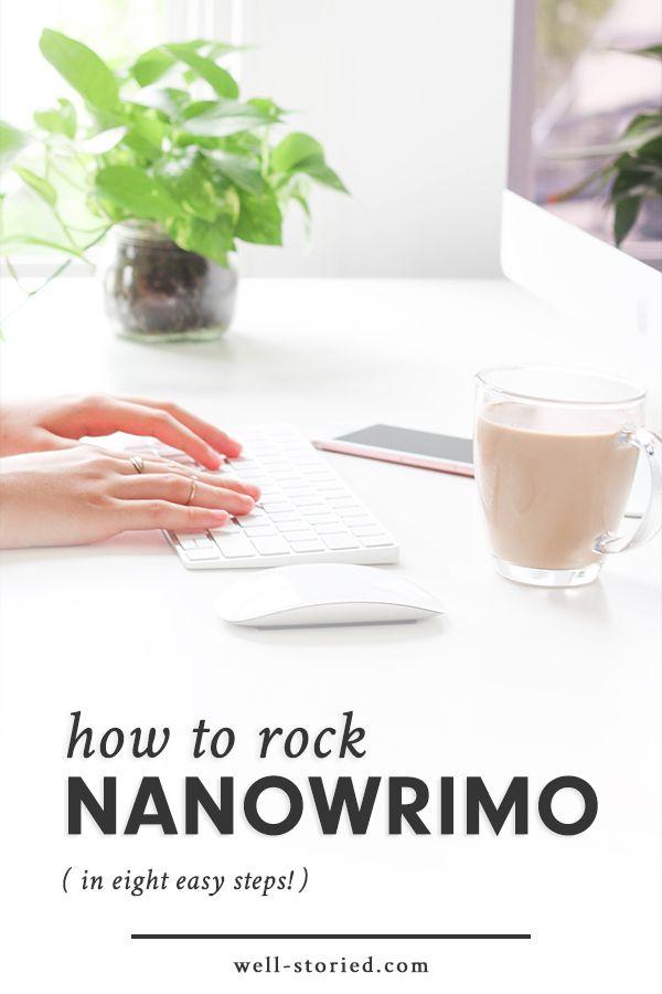 How to Rock NaNoWriMo This November
