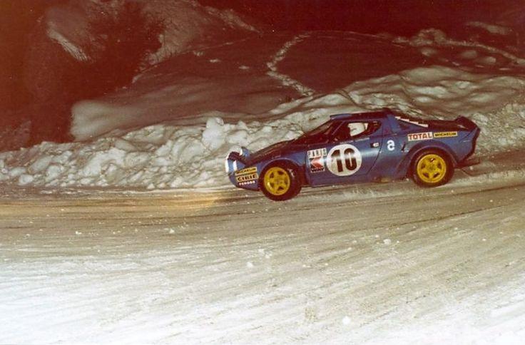 1978 Monte Carlo Rally - Michele Mouton
