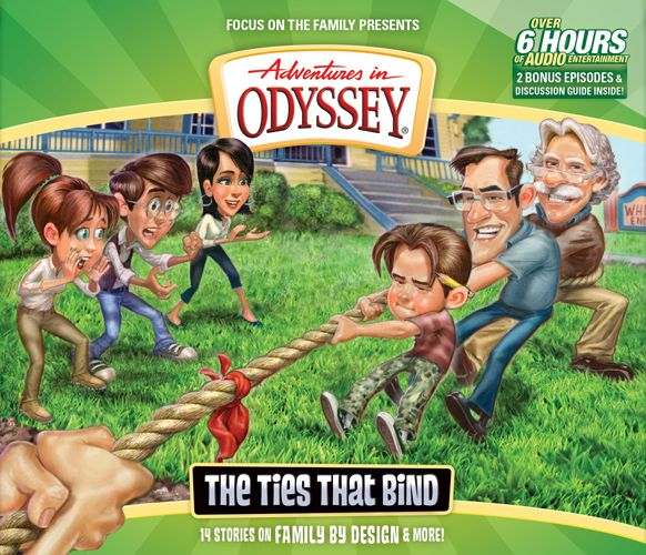 Enter to win they newest Adventures in Odyssey CD!