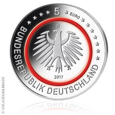 """Die neue 5-Euro-Münze """"Tropische Zone"""", die gestern auf den Markt gekommen ist, ist bei vielen Banken schon nicht mehr zu haben. Kein Wunder: Die Auflage für die rund 80 Millionen Bunde…"""
