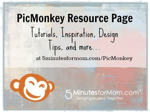 picmonkey-free-tutorials (beginner tutes, plus editing/cloning/collaging). Something to spend a rainy afternoon perusing.