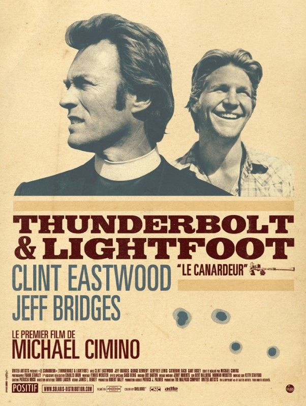 Thunderbolt & Lightfoot (1974). With the help of an irreverent young sidekick, a bank robber gets his old gang back together to organize a daring new heist.