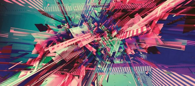 Photoshop Tutorial: Multi-Color 3D Abstract Scene