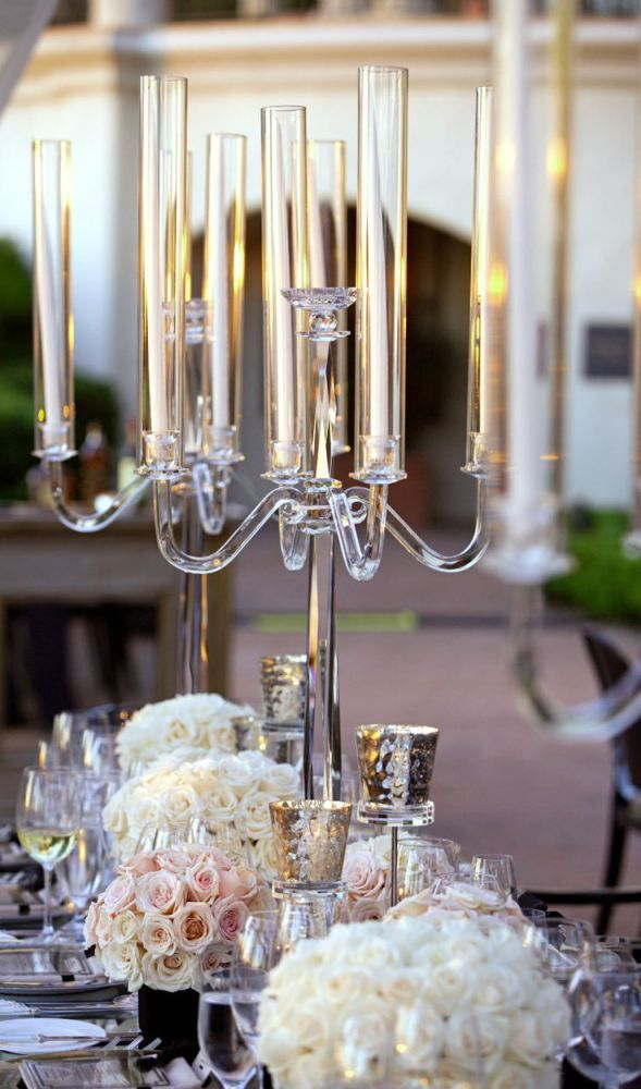 Best crystal centerpieces ideas on pinterest bling