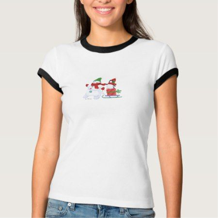 Snowman & Penguin 2 T-Shirt - tap to personalize and get yours