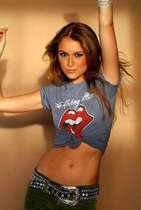 Well, she grew up  Alexa Vega (Carmen from Spy Kids)