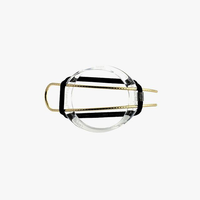 Colette Malouf Lucite Poetry hair hoop set, $175 Buy it now