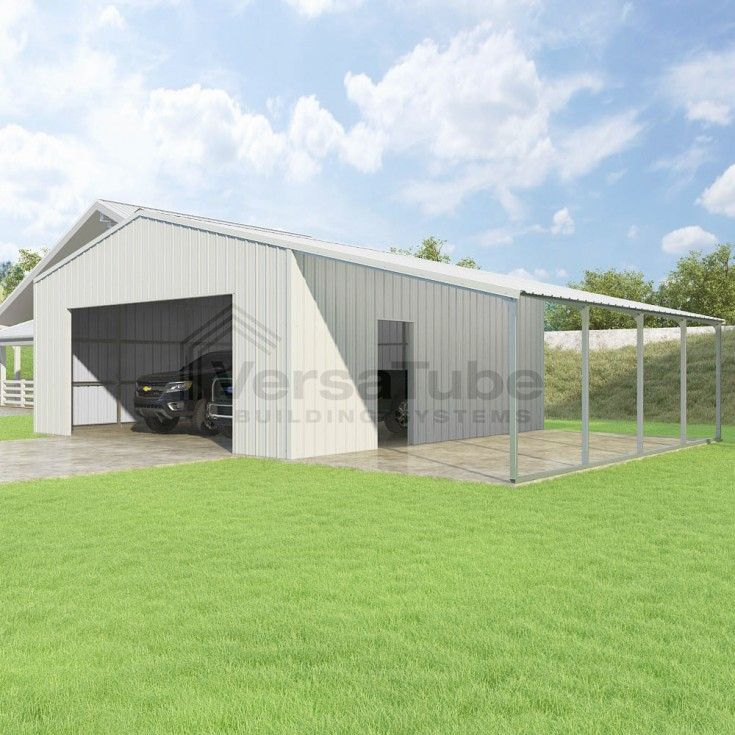 how to build a lean to garage