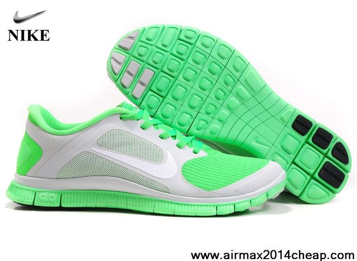 Outlet Online Nike Free Run - Pure Platinum / Electric Green / Anthracite Shop No.56631658