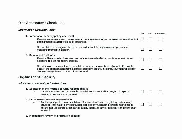 Building Security Risk Assessment Template In 2020 Security