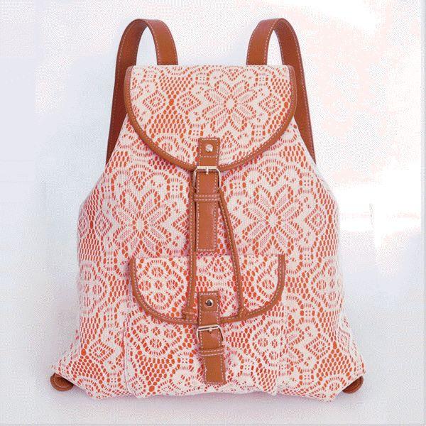 Moda lace ocasional escola mochila rosa saco saco de viagem pequenas frescas 2014 das mulheres em Mochilas escolares de Mochilas & bagagem no AliExpress.com   Alibaba Group