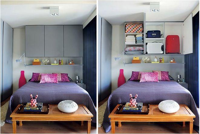 quartos pequenos e estreitos decoracao - Pesquisa Google