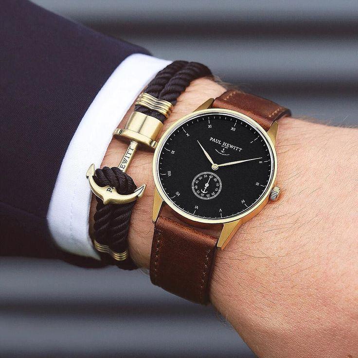 Gentlemens MUST HAVE! Signature Line watch & anchor bracelet from paul hewitt. #getAnchored #paulhewitt paul hewitt by highfashionmen . . . . . der Blog für den Gentleman - www.thegentlemanclub.de/blog