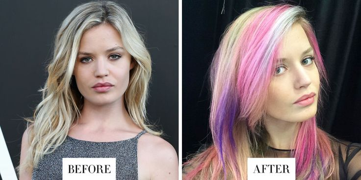 When: July 2015 What: Rainbow Hair Why we love it: We've already tried the sand art hair trend here at BAZAAR, and Jagger's interpretation of the daring rainbow look is no disappointment. The model manages to pull off the My Little Pony-inspired hues effortlessly in a look that's perfect for the summer.