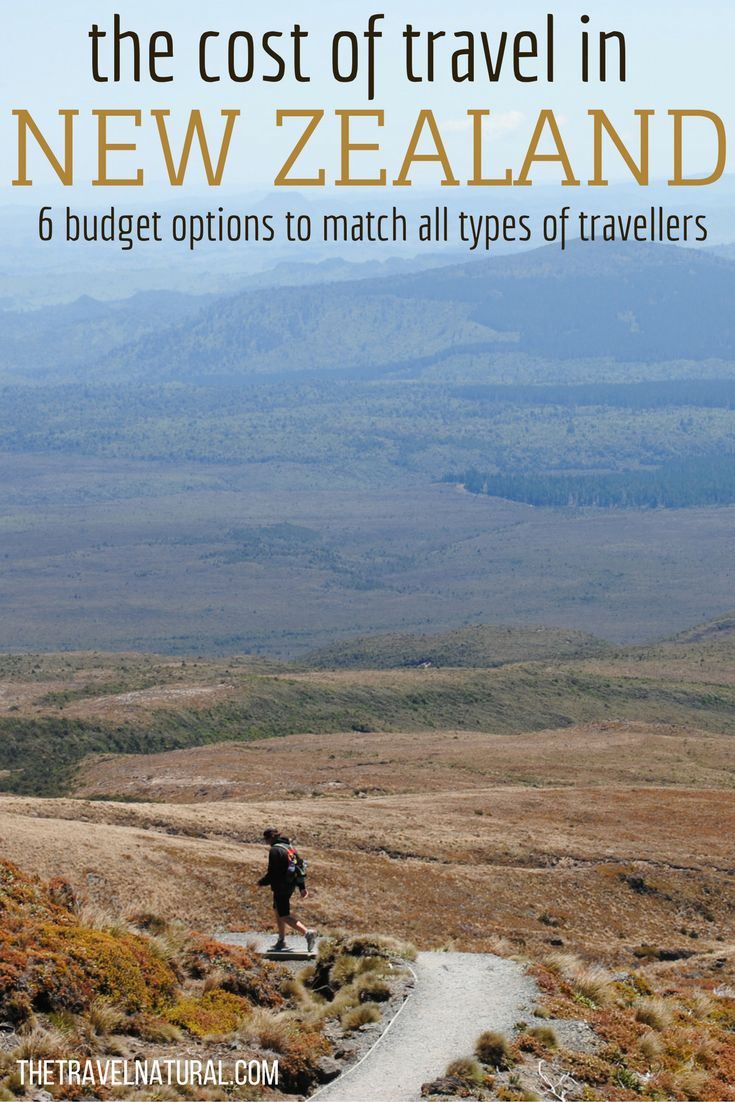 The cost of travel in New Zealand - 6 budget options to match all types of travellers | The Travel Natural