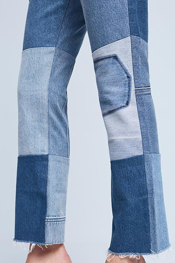 Slide View: 3: Levi's 517 Ultra High-Rise Cropped Bootcut Jeans