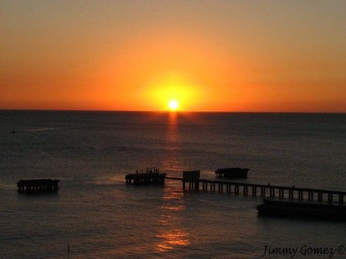 Sunset Crashboat, Aguadilla, PR