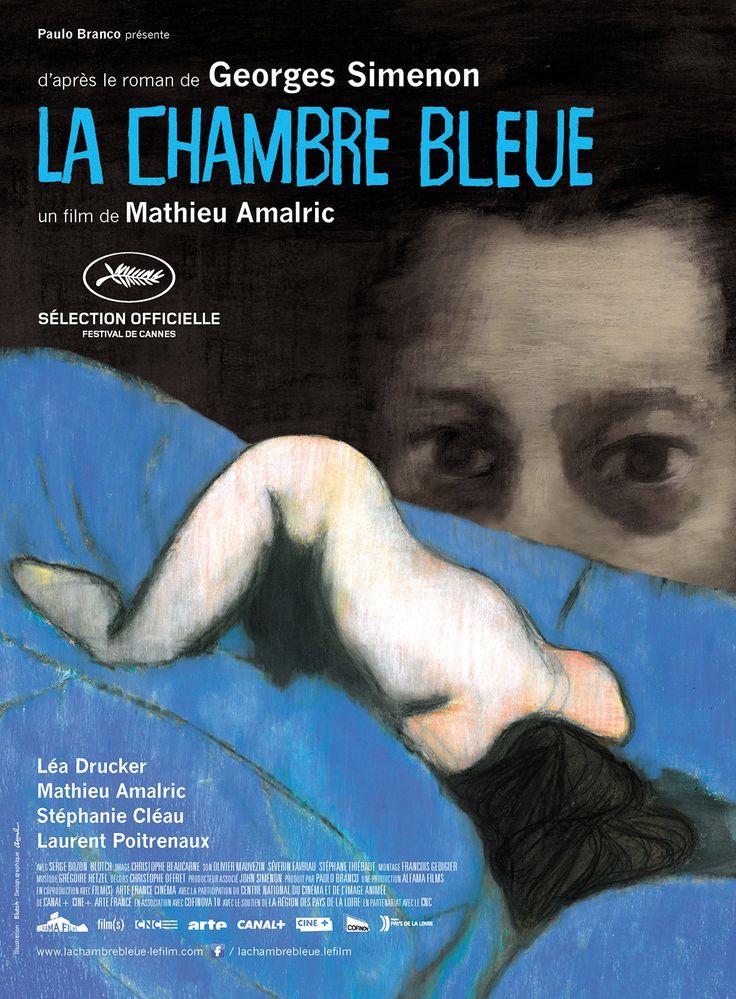 La Chambre Bleue est un film de Mathieu Amalric avec Mathieu Amalric, Léa Drucker. Synopsis : Dis- moi Julien, si je devenais libre, tu te rendrais libre aussi ?- Tu dis ?...Un homme et une femme s'aiment en se