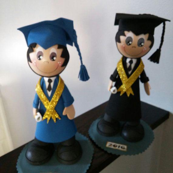 Graduation fofucha doll